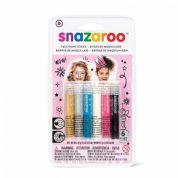 Snazaroo Girls Face Painting Sticks (Pack of 6)